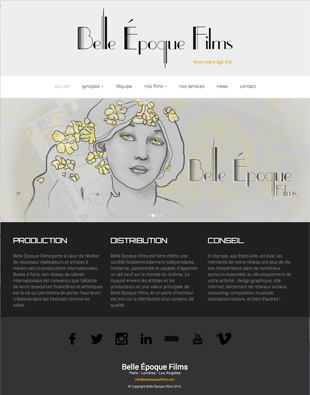 Belle Époque Films - Distribution et production de films, conseil