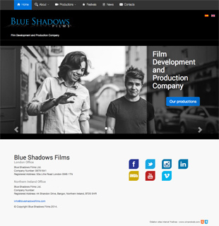 Blue Shadows Films London - Film Development and Production Company